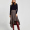 Gathered leather over the knee high heel boots - view all-shoes-woman | zara macedonia