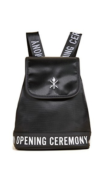 opening ceremony mini backpack mini backpack black bag