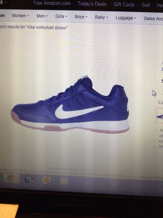 shoes navy nike volleyball shoes volleyball court midnight navy women's