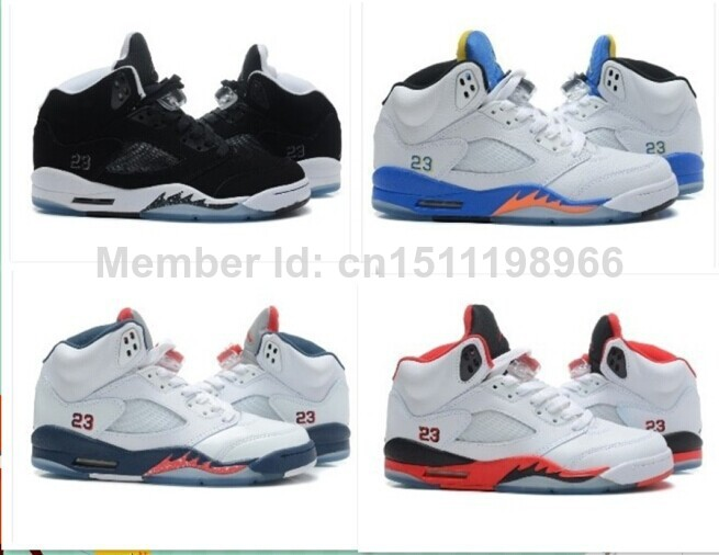 New jordan 5 6 mens sneakers shoes bred black white-in Basketball Shoes from Sports & Entertainment on Aliexpress.com
