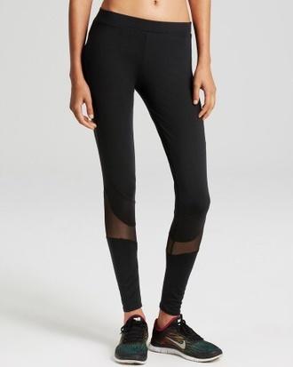 mesh leggings