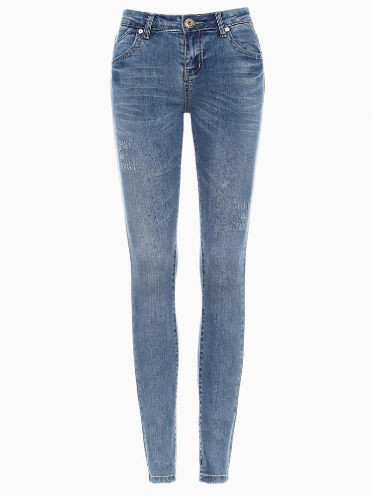 Denim Skinny Jeans | Choies