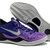 "Nike Kobe 8 ""Playoffs""Bryant Men Size Shoes With Court Purple/Purple Platinum/Black Blue Colors"