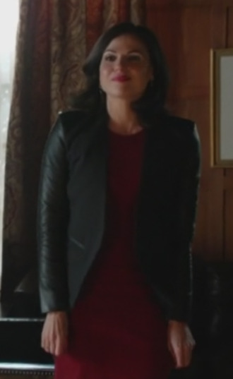 jacket leather tuxedo jacket tuxedo jacket leather jacket evil queen lana parrilla once upon a time show wool jacket