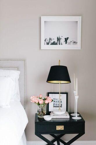 home accessory tumblr bedroom tumblr bedroom lamp metallic lamp table flowers
