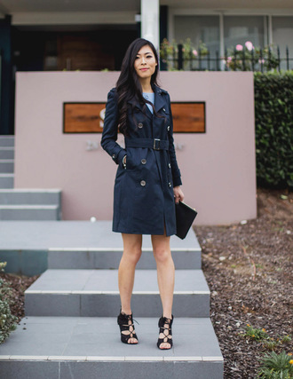 metallic paws blogger coat dress bag