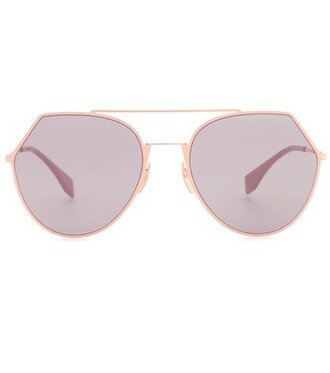 sunglasses aviator sunglasses pink