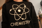 sweater,topshop,science,jumper,black and white,nerd