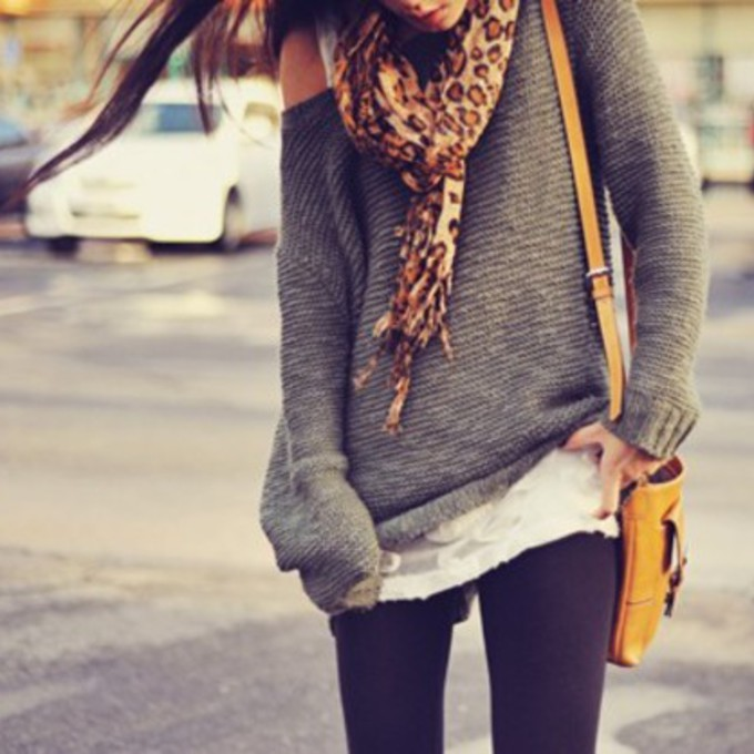 Where To Buy Oversized Sweaters To Wear With Leggings - Cashmere ...