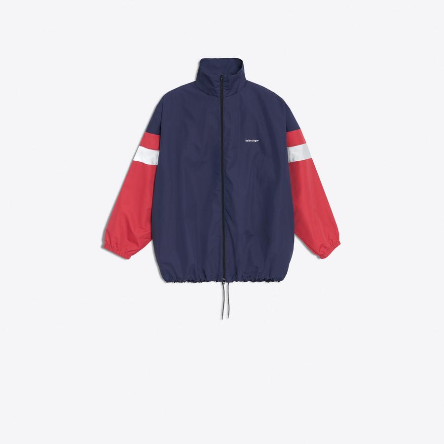 Men's NAVY / CERISE  Tracksuit Jacket  | Balenciaga
