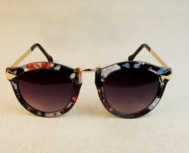 Cat eye retro floral sunglasses · fashion struck · online store powered by storenvy