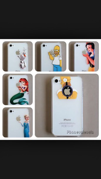 phone cover homer simpson