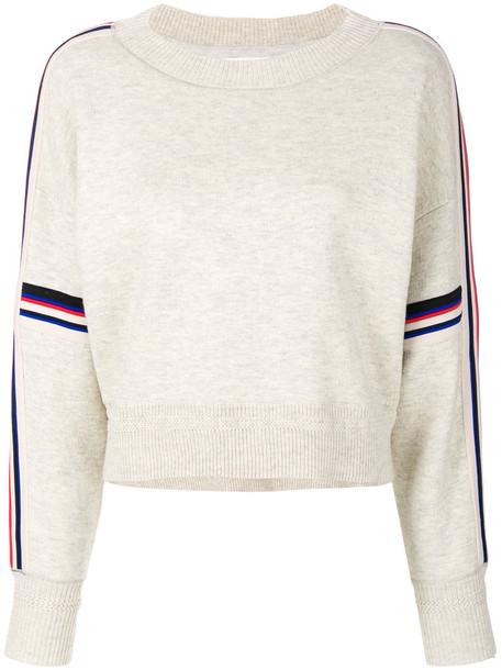Isabel Marant etoile jumper women spandex nude cotton wool knit sweater