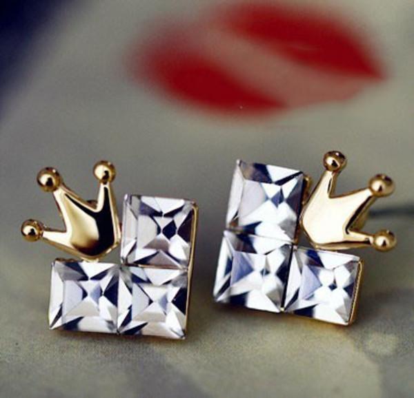 jewels earrings cordate beautiful