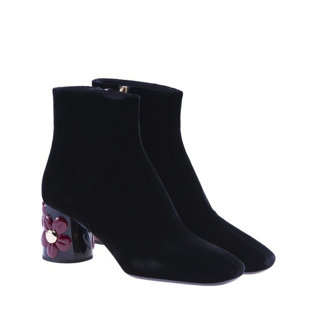velvet ankle boots ankle boots velvet black shoes