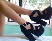 shoes,heels,chunky,chunky heels,high heels