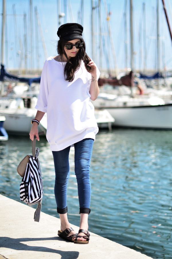 views by laura blogger jeans shoes bag sunglasses jewels