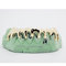 Custom 8 piece drip style sterling silver 10k 14k plated gold grillz grill bar slugz