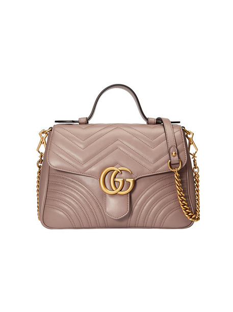 gucci metal women bag leather purple pink