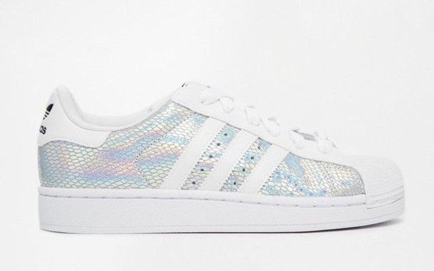 adidas originals superstar ii metallic white