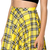 Tartan Yellow Plaid Skater Skirts Women Pleated Ball Gown Mini Skirts-in Skirts from Apparel & Accessories on Aliexpress.com | Alibaba Group