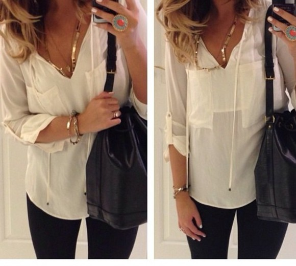 knit white blouse blog blogger fashion blogger top