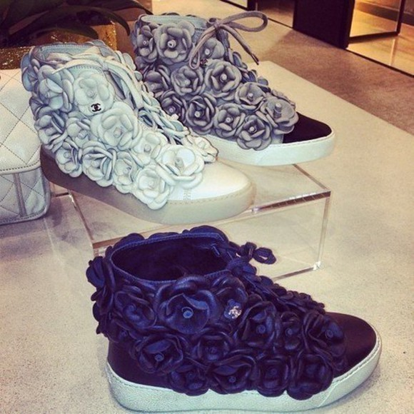 chanel black chanel logo chanel chanel sneakers chanel chanel shoes white grey luxury luxurious luxus luxury brands chain boots celebrity heels shoes. shoes