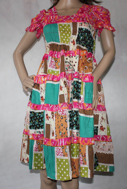 dress cotton sundress