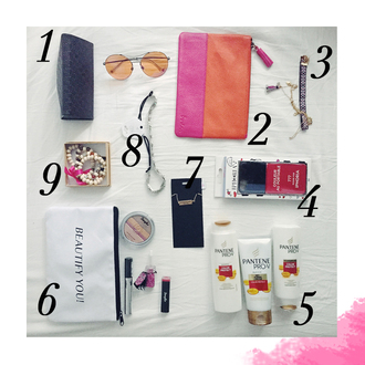 ohh couture blogger bag sunglasses jewels