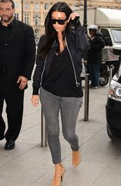 jacket,kim kardashian,jeans,bomber jacket