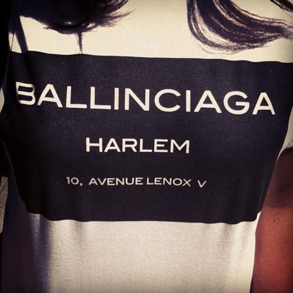 t-shirt black and white