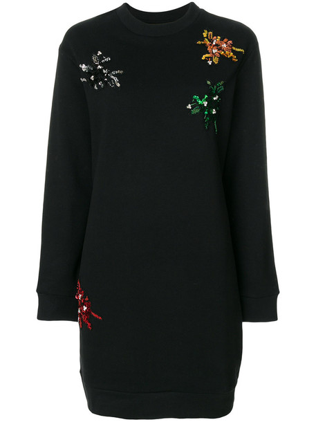 Gaelle Bonheur dress studded women cotton black