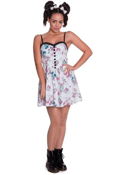 unicorn dress pinup rockabilly cute
