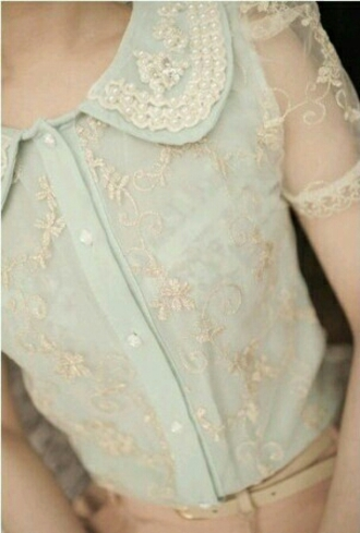 shirt blouse blue shirt lace top peter pan collar button up blouse please tellme wheretoget tigerprint lovethisshoes airmax nike