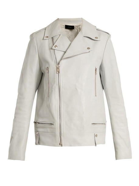 Joseph jacket leather jacket leather white