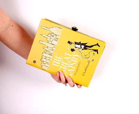 Book Clutch Purse The Great Gatsby by chicklitdesigns on Etsy