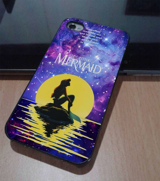 ariel the little mermaid jewels ariel the little mermaid iphone case iphone 4s case http://wheretoget.it/tag/selena+gomez/1055