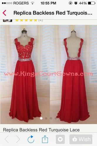 dress lace love it prom dress jewels red