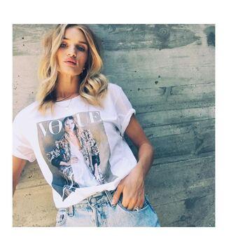 shorts short shorts denim shorts rosie huntington-whiteley instagram model