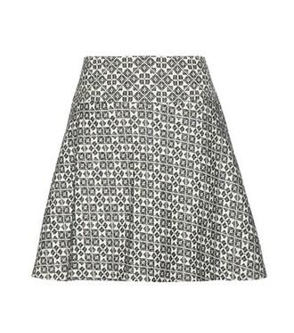 skirt cotton white