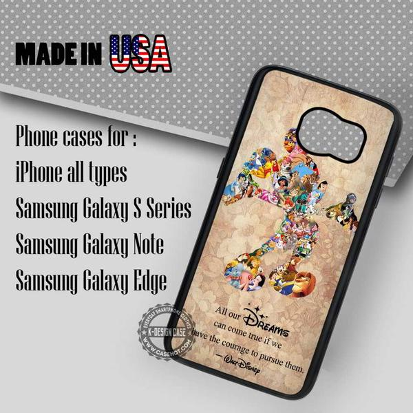 Samsung S7 Case - Collage Mickey Mouse - iPhone Case #SamsungS7Case #MickeyMouse #yn