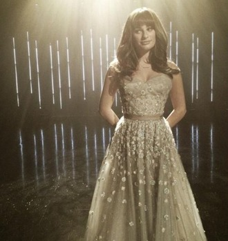 dress glee lea michele