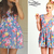 Ariana Grande: Floral Cutout Dress | Steal Her Style