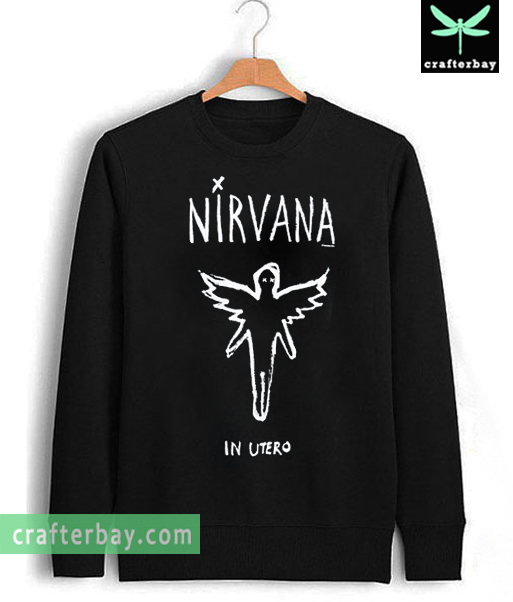 Nirvana in utero Sweatshirt