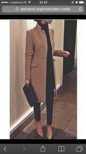 coat,sophisticated look,camel colour coat