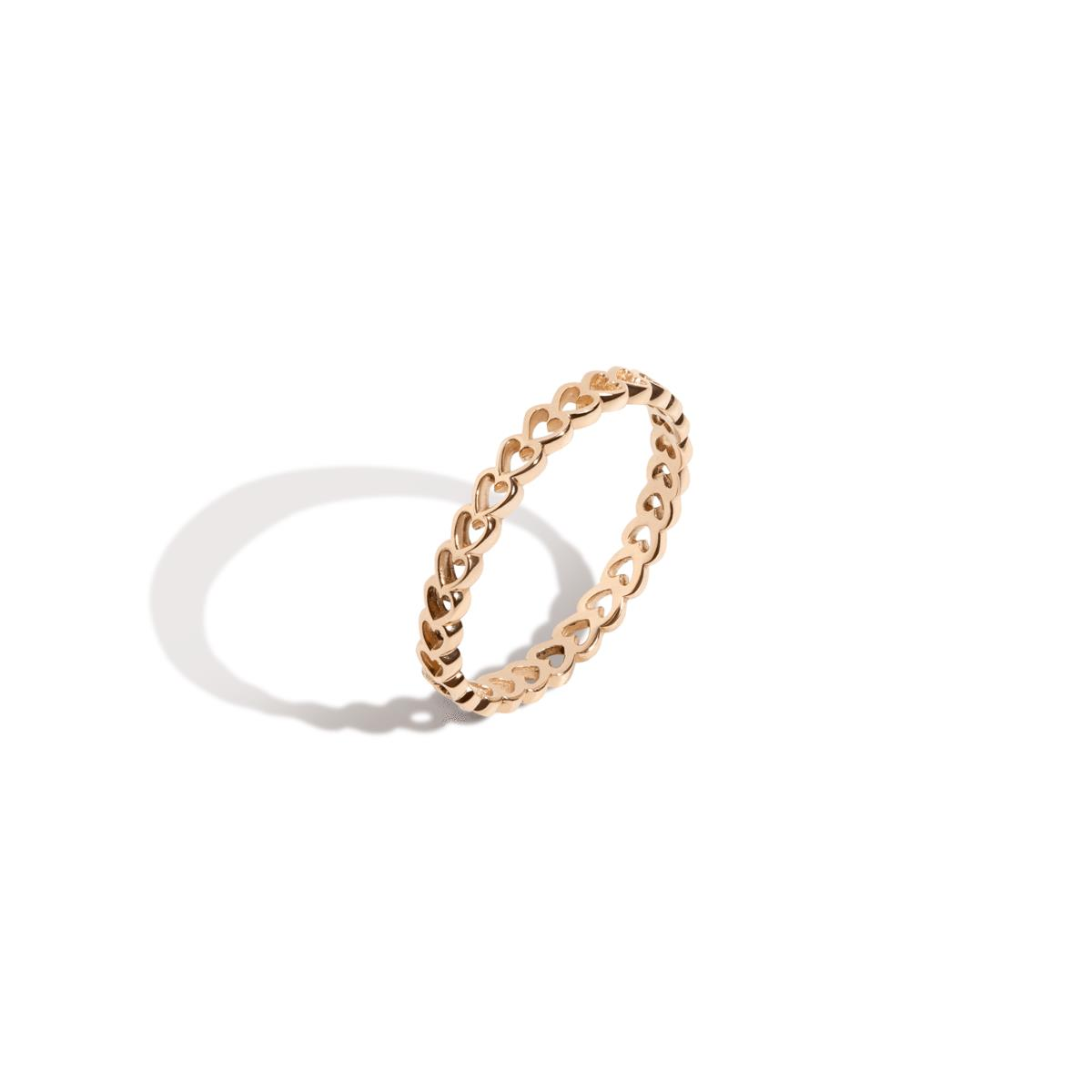 Infinity Heart Ring