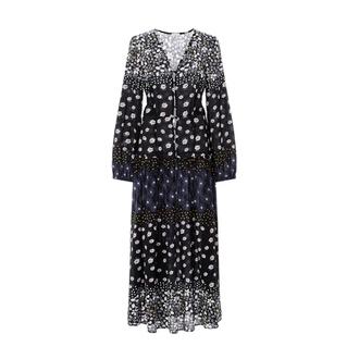 dress floral maxi dress long sleeve dress