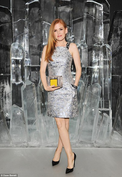 dress silver isla fisher bag