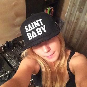 hat cap girly baseball cap black style fashion trendy