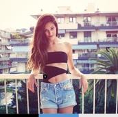 swimwear,monokini,black,one piece swimsuit,exact,strapless,solid,bikini,one piece,scrappy,beach